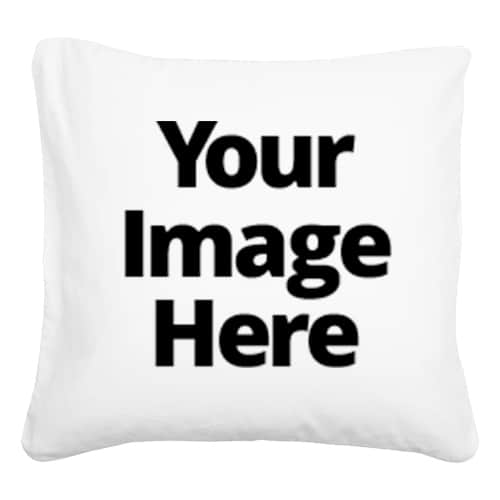 Your Image Here - Square Throw Pillows