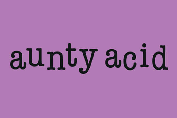 Aunty Acid Apparel, Drinkware, Gifts and Merchandise