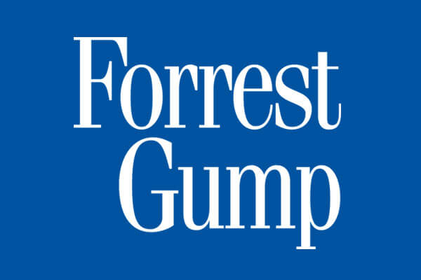 Forrest Gump Movie Apparel, Drinkware, Gifts and Merchandise