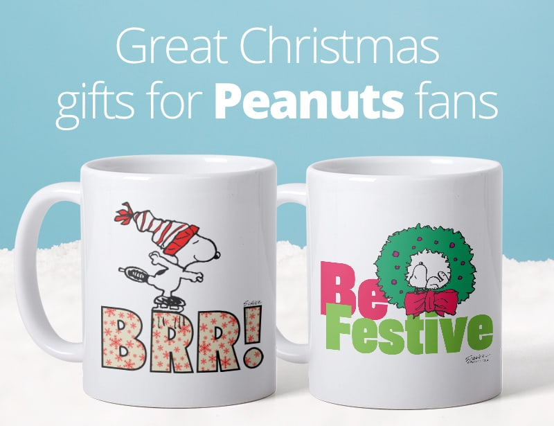Great Christmas Gifts for Peanuts Fans.