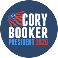 Cory Booker for president 2020 Presidential Candidate Campaign Merchandise Design