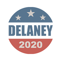 John Delaney for president 2020 Presidential Candidate Campaign Merchandise Design