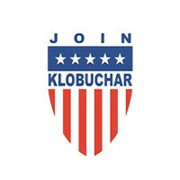 Amy Klobuchar for president 2020 Presidential Candidate Campaign Merchandise Design