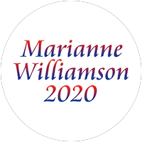 Marianne Williamson for president 2020 Presidential Candidate Campaign Merchandise Design