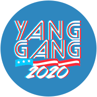 Andrew Yang for president 2020 Presidential Candidate Campaign Merchandise Design