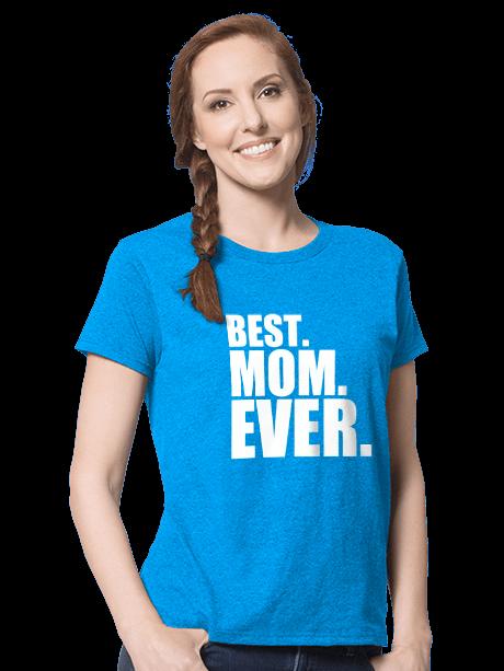 Woman wearing a Women's Classic T-Shirt